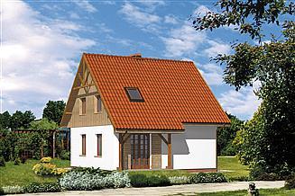 Projekt domu WB-3387_I_ETAP