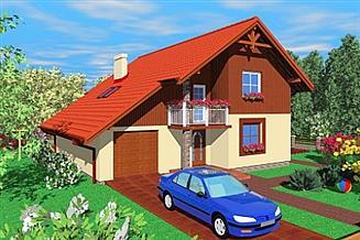 Projekt domu PAZ