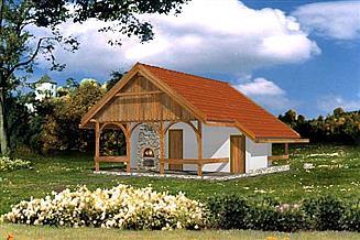 Projekt domu letniskowego WB-3349