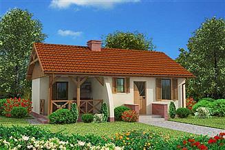 Projekt domu letniskowego Arosa dom letniskowy