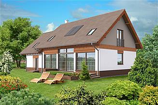 Projekt domu Berlin III DCP160b
