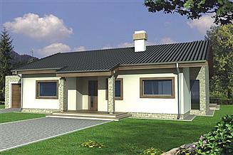 Projekt domu Antek A