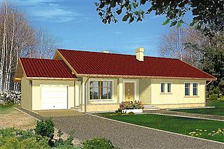 Projekt domu Koori I