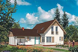 Projekt domu WB-3983
