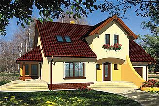 Projekt domu Parys I
