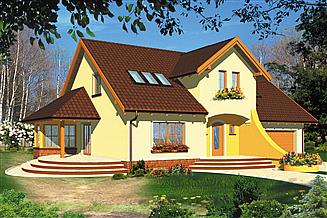 Projekt domu Parys II