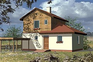 Projekt domu WB-3483