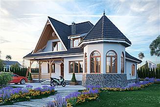 Projekt domu Nowy Zameczek - murowana – ceramika