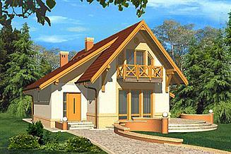 Projekt domu Wega II