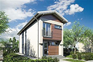 Projekt domu Busik