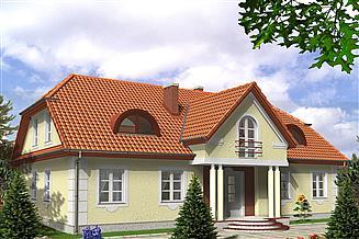 Projekt domu Merlin