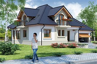 Projekt domu Dandys 1 G2