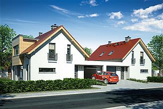 Projekt domu Wega Duo