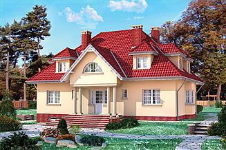 Projekt domu Sarmata - murowana – ceramika