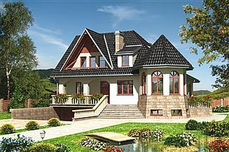 Projekt domu Kaprys - murowana – silikaty