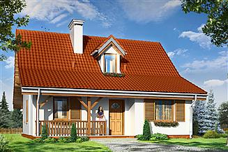 Projekt domu Sosenka 5