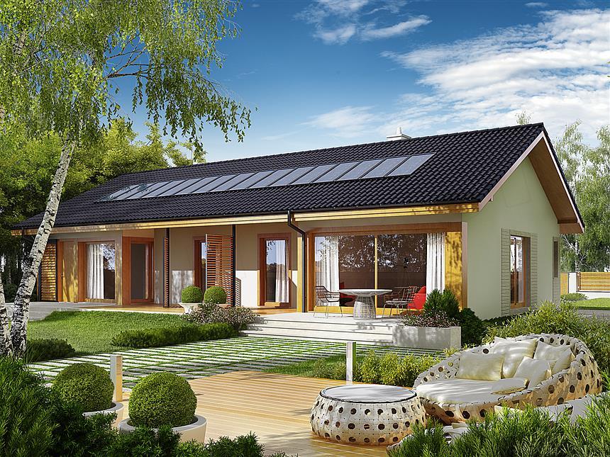 Projekt domu Eryk G1 Multi-Comfort