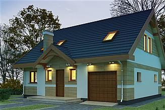 Projekt domu Iskierka N