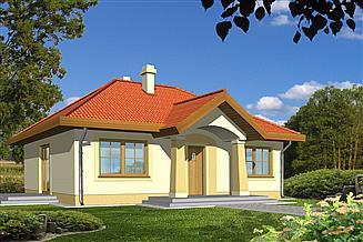 Projekt domu Julek bez garażu