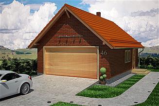 Projekt garażu Garaż G2