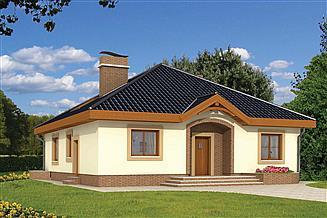 Projekt domu Groszek bez garażu