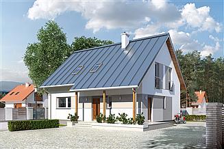 Projekt domu Jeżyna
