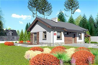 Projekt domu Dom przy Przyjemnej bis