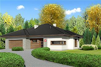 Projekt domu Dom przy Pastelowej 2 bis