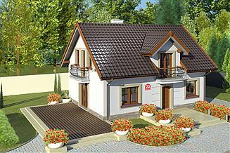 Projekt domu Dom przy Alabastrowej 20