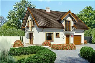 Projekt domu Dom przy Alabastrowej 21