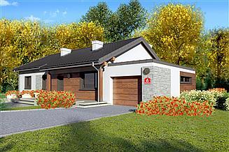 Projekt domu Dom przy Bukowej 6
