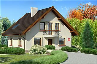 Projekt domu Dom przy Cyprysowej 12