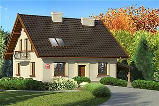 Projekt domu Dom przy Cyprysowej 20