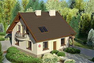 Projekt domu Dom przy Cyprysowej 26