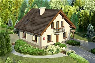 Projekt domu Dom przy Cyprysowej 27