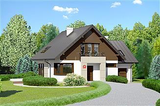 Projekt domu Dom przy Cyprysowej 29