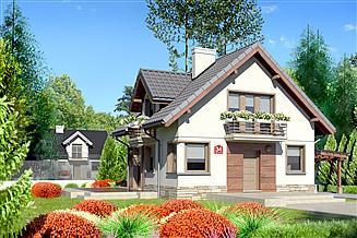 Projekt domu Dom przy Cyprysowej 34