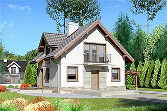Projekt domu Dom przy Cyprysowej 35