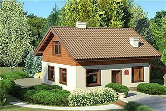 Projekt domu Dom przy Imbirowej 3