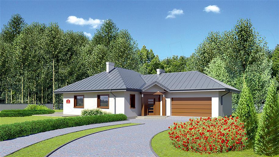 Projekt Dom Przy Jaśminowej 2 11879 M2 Koszt Budowy Extradom