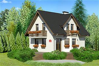 Projekt domu Dom przy Kalinowej 2