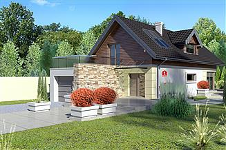 Projekt domu Dom przy Kolorowej