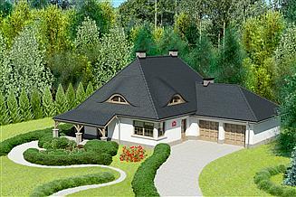 Projekt domu Dom przy Malowniczej 3 NF40