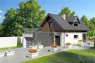 Projekt domu Dom przy Migdałowej