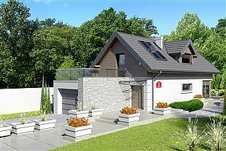 Projekt domu Dom przy Migdałowej 2