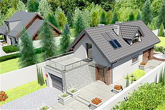 Projekt domu Dom przy Migdałowej 3