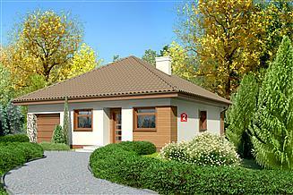 Projekt domu Dom przy Niezapominajek 2