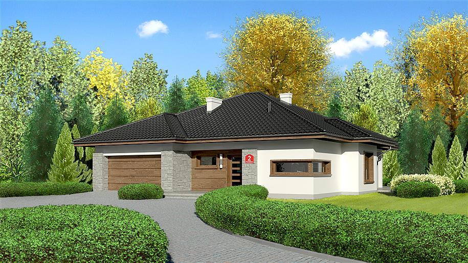 Projekt Dom Przy Pastelowej 2 115 36 M2 Koszt Budowy Extradom