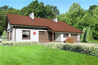 Projekt domu Dom przy Przyjemnej 12 bis