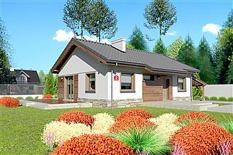 Projekt domu Dom przy Przyjemnej 2 bis